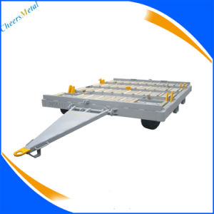 Container Trailer Airport Transportation Dolly pictures & photos