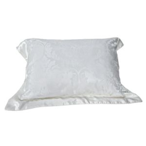 Luxurious White Silk Comfortable Bedding Set Pillow Sham Pillow pictures & photos