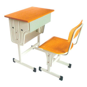 CKD Structure Height Adjustable Single School Furniture