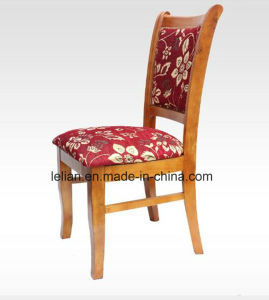 Wood Frame Frabric Uphystery Restaurant Dining Banquet Chair pictures & photos