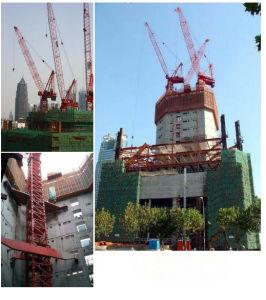 L250-20 Lifting Machine Luffing-Jib Tower Crane