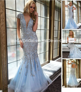 Crystals Prom Party Dresses Cocktail Dress Fashion Vestidos Evening Gown J201563 pictures & photos