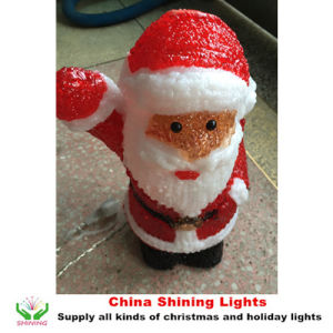 Santa Acrylic LED Christmas Lights Holiday Decoration pictures & photos