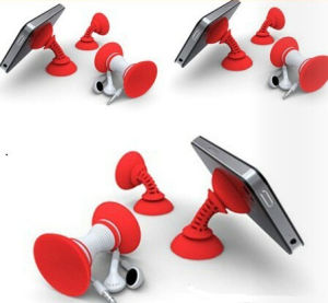 Customized Silicone Bobbin Winder for Mobile Phone pictures & photos