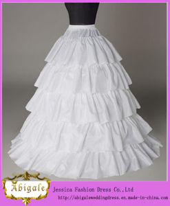 New Arrival Four Layers a-Line Bridal Wedding Petticoat (MI 3569)