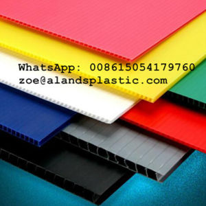 Color PP Corrugated Sheet/PP Hollow Sheet/Coroplast Sheet pictures & photos