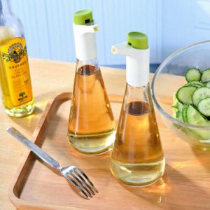 Olive Oil & Vinegar Sprayer Glass Bottle with Adjustable Flow Control for Kitchenware Cooking pictures & photos