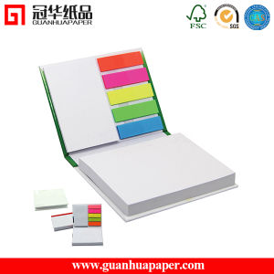 Promotion Gift Leather Cover Sticky Note Book pictures & photos