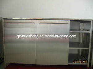 Metal Kitchen Cabinet for Modern (HS-026) pictures & photos
