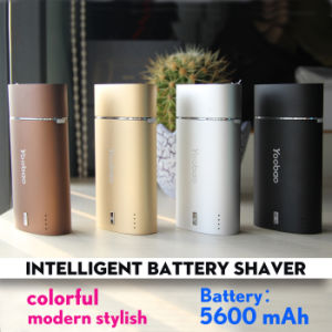 Shaving Personal Care Yoobao Intelligent Battery Shaver with Power Bank