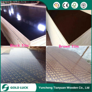 18mm Shuttering Plywood, Black/Brown Film Faced Plywood pictures & photos