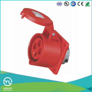Utl Uz-1399 Industrial Plug Plastic Waterproof Electric Socket pictures & photos