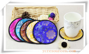 Decoration Special Gift for Chinese Cup Mat pictures & photos