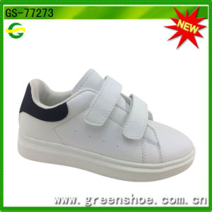 Latest Design Wholesales Kids White Sneakers pictures & photos