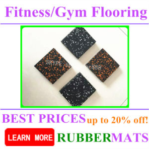 High Density Soft Eco-Friendly Home Gym Rubber Flooring pictures & photos