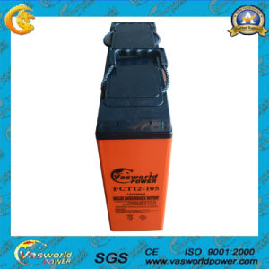 FT 12V105ah Rechargeable Front Terminal Battery pictures & photos
