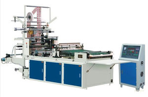 Computer Heat-Cutting Side Sealing Machine (with ultrasonic function) pictures & photos