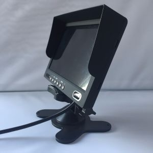 7 Inch 2chs High Resolution LCD Screen Monitor for Trucks 24V pictures & photos