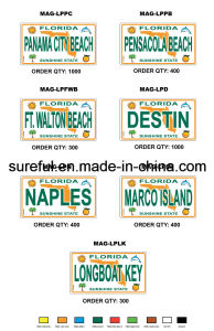 Magnet License Plate pictures & photos