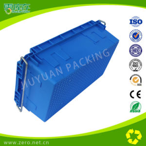 Cheap Price Stackable Industrial Storage Crates Used Plastic Crates for Sale pictures & photos