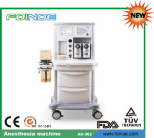 Au-302 New Model CE Approved Anesthesia Machine with Ventilator pictures & photos