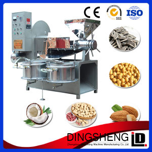 Dingsheng Brand Automatic Type Oil Extruder Machine for Sunflower Zl-120 pictures & photos