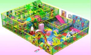High Quality Kids Indoor Amusement Park (YQL-0110063)