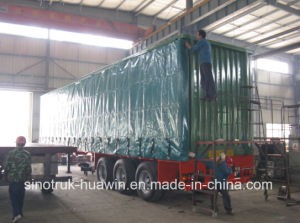 3 Axle Curtain Side Semi Trailer pictures & photos