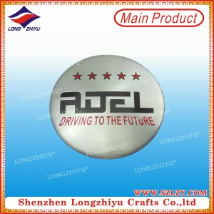 Customed Printing Logo Aluminium Metal Labels for Handbags pictures & photos