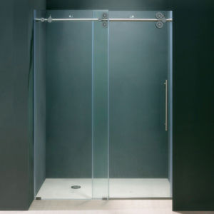 3-19mm High Polished Tempered/Toughened Glass Doors pictures & photos