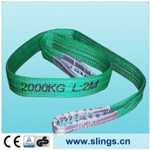 Sln Synthectic Fibre Heavy Webbing Sling with Eyes pictures & photos
