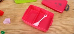 Shaker Easy Lock 2 Compartments Lunch Box Eco-Friendly Lunch Box BPA Free pictures & photos