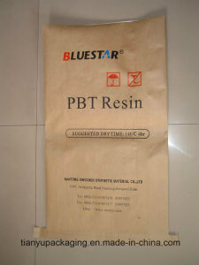 Plastic Lined Kraft Paper Laminated Bags for Packing Flour pictures & photos