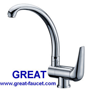 CE Approved Brass Kitchen Sink Faucet pictures & photos