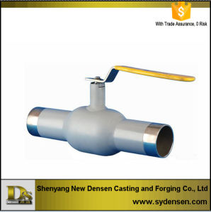 Hot Sale City Heating Fully Welded Ball Valve Dn 20 pictures & photos