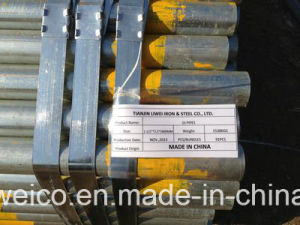 Good Quality Low Price Galvanized Steel Round Pipe pictures & photos