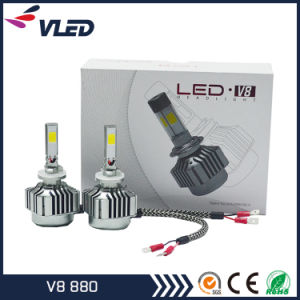 New LED Car Headlight V8 COB Headlight Bulbs 880 pictures & photos