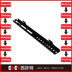 Punching Bending Welding Sheet Metal Panels pictures & photos