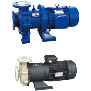 CQB Lined Fluoroplastic Magnetic Driving Pump pictures & photos