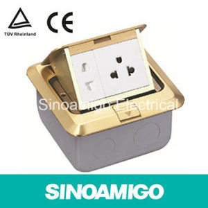 Brass Floor Socket Power Outlet Receptacle pictures & photos