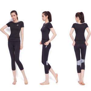 Gray Yoga Bra High Quality Nylon Yoga Pants Women Legging pictures & photos