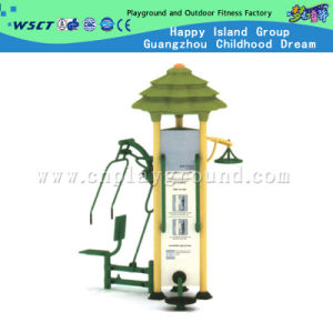 Luxury 3 Station Outdoor Fitness Equipment for Sale (A-13703) pictures & photos