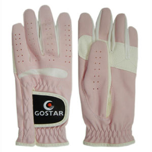2015 New Style PU Synthetic Leather All Weather Golf Glove (PGL-02) pictures & photos