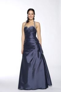 Halter Silver Prom Dresses (PD13001) pictures & photos