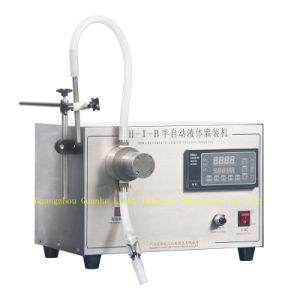 Semi-Auto Liquid Filling Machine with Electrically-Driven pictures & photos