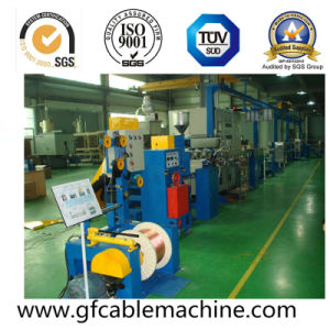 Auto Outdoor Optical Cable Pipe Sheath Extruder Machine Production Line pictures & photos