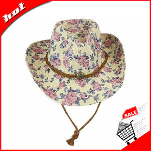 Fashion Cowboy Hat. Straw Hat. Paper Hat pictures & photos