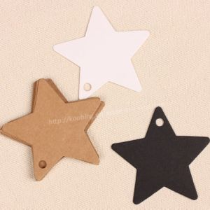 Star Hang Tag with Varies Material and Design pictures & photos