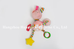 Factory Suppy of New Designed Plush Baby Teether pictures & photos