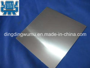 Pure Tungsten Plate for Sapphire Single Crystal Growth Vacuum Furnace pictures & photos